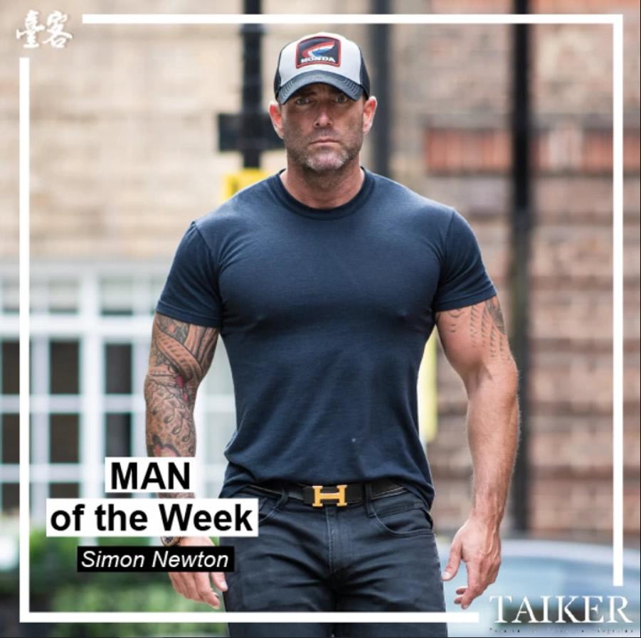 Man of the week - Simon Newton